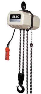 un palan ou treuil électrique à chaîne